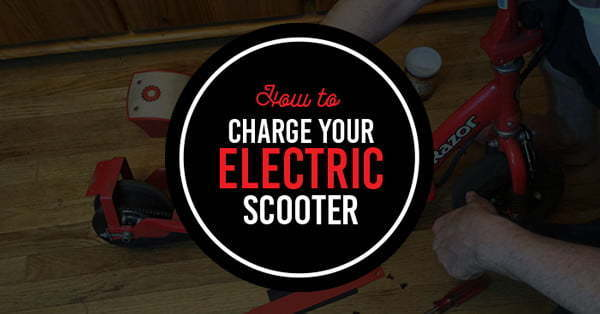 how to charge your electric scooter