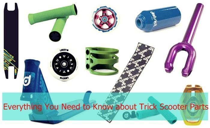 Trick Scooter Parts