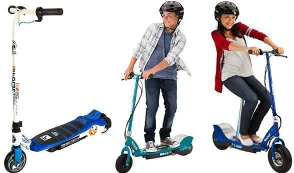 use Electric Scooter for Healthier Kids