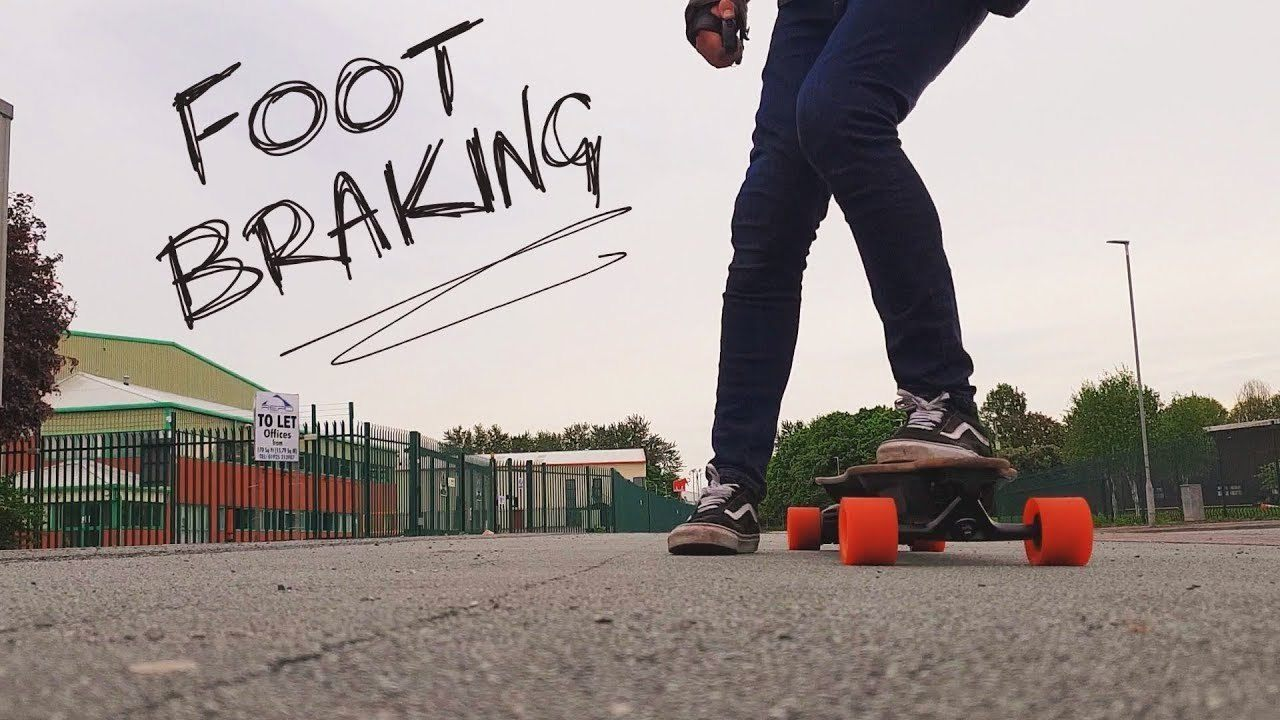 longboard Foot Braking