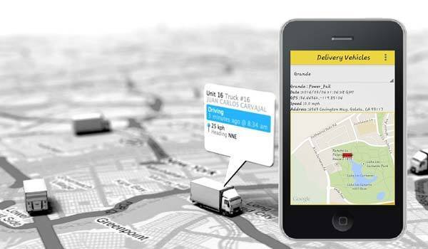 How Car Tracking App Works