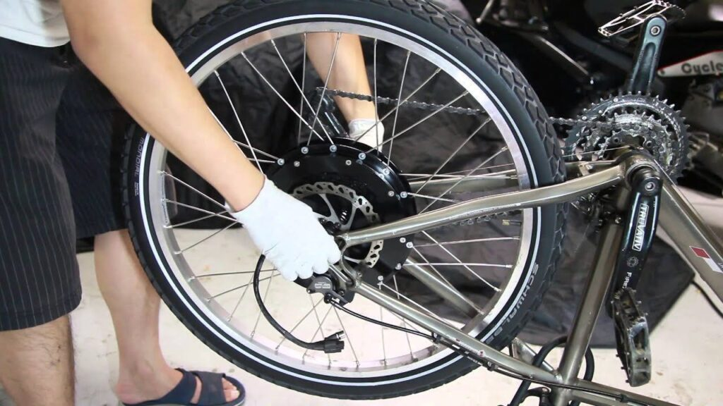 How To Install Electric Bike Conversion Kit
