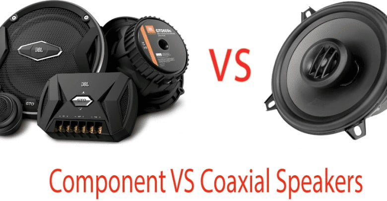 Component Speakers vs Coaxial