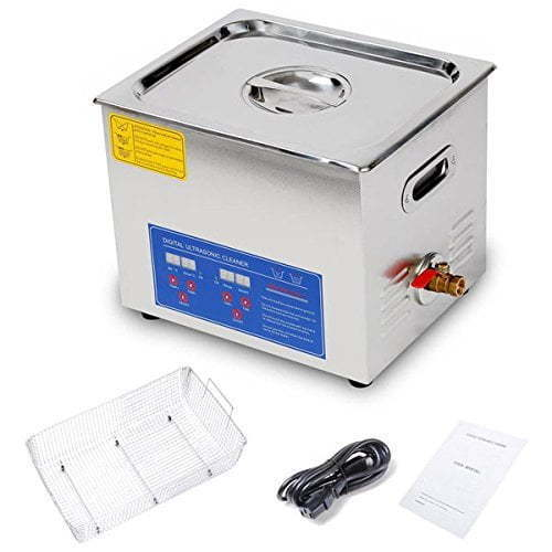 ANGEL POS 10L 2.6 Gallon Ultrasonic Cleaner for Carburetor