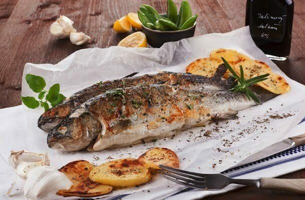 Basil-Rosemary-Grilled-Trout-quick Pontoon Boat Grill Ideas