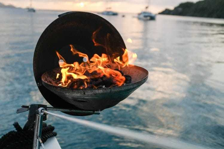 How To Install A Boat Grill