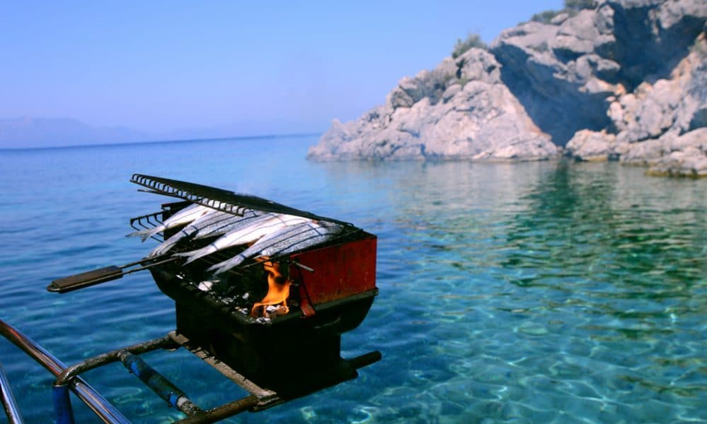 best boat grill