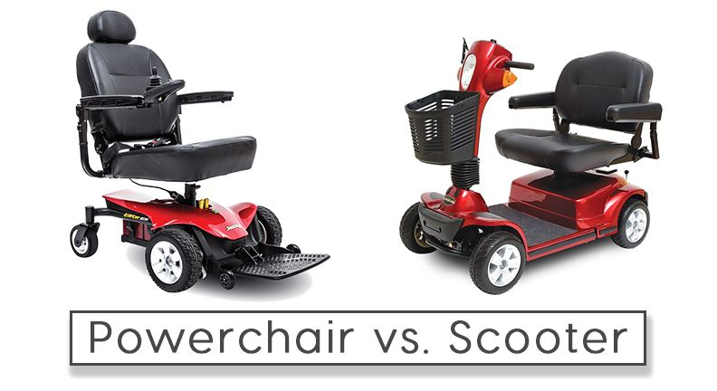 Mobility Scooter Vs Power Wheelchair