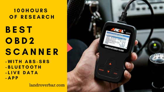 best obd2 scanner with abs and srs
