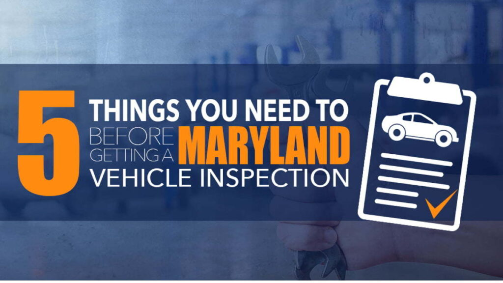 Car Inspection in Maryland