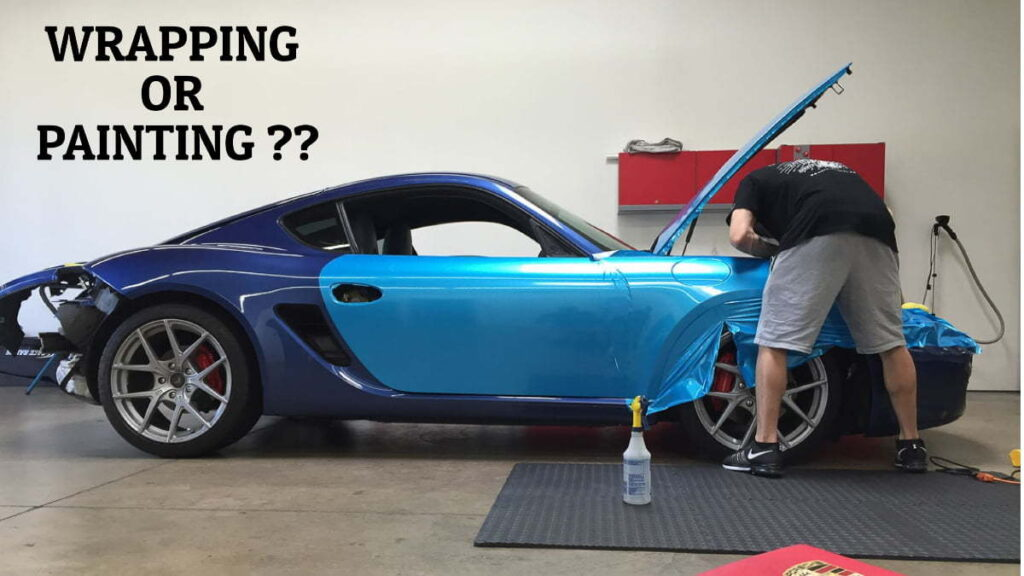 Car Wrapping Vs Painting