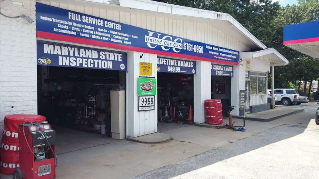 MD State Inspection United Car Care