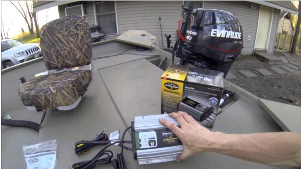 how to install a marine battery